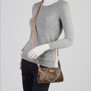 Authentic Louis Vuitton Eva Monogram Crossbody
